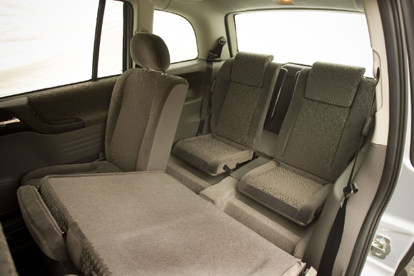 Chevrolet Zafira espaço opção de carro 7 lugares