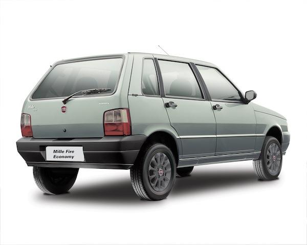 Fiat mille economy economia de combust vel e timo pre o for Espaillat motors vehiculos usados