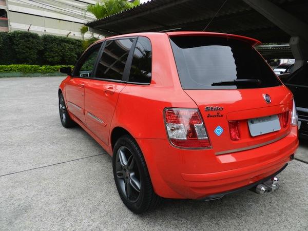 Fiat Stilo Sporting Dualogic vermelho