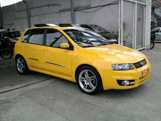 fiat-stilo-sporting-duallogic - amarelo