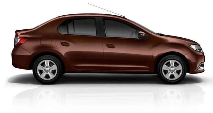 Renault Logan - Novo Logan 2014 - lateral