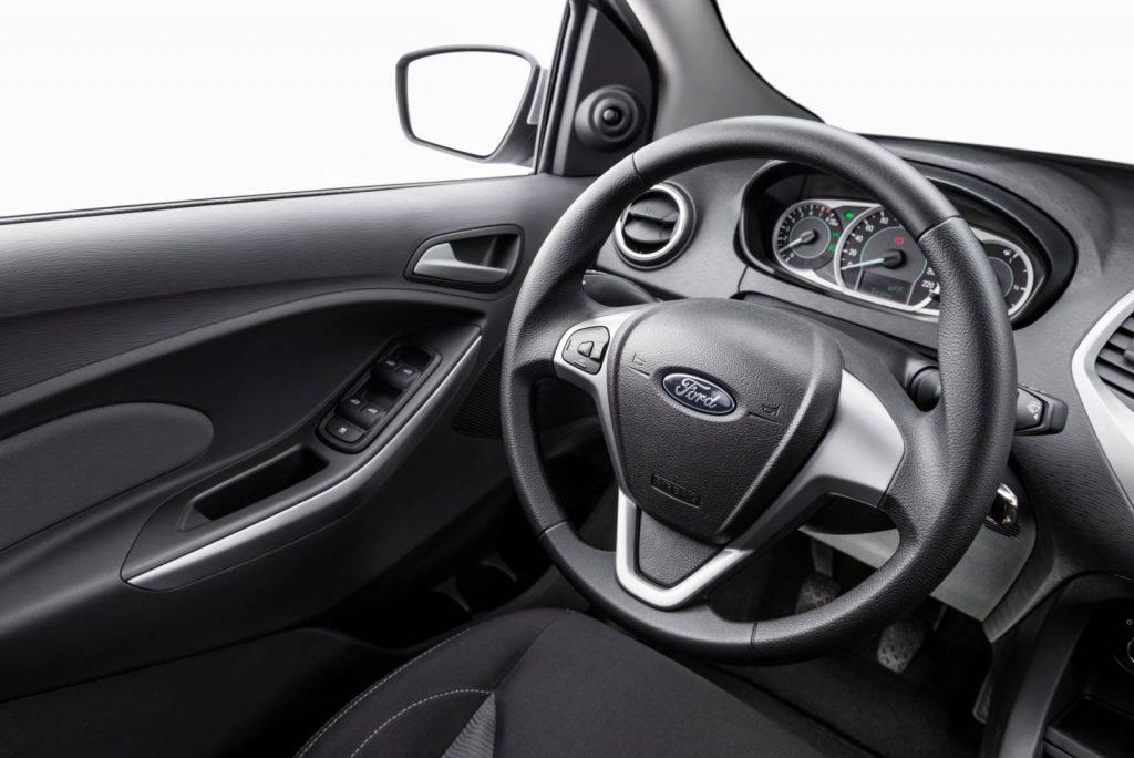 Novo Ford ka, interior bonito e bem acabado