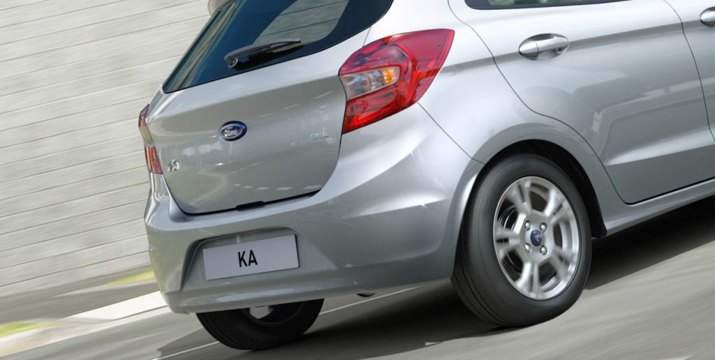 Novo ford ka: traseira não é tão bonita quanto a dianteira