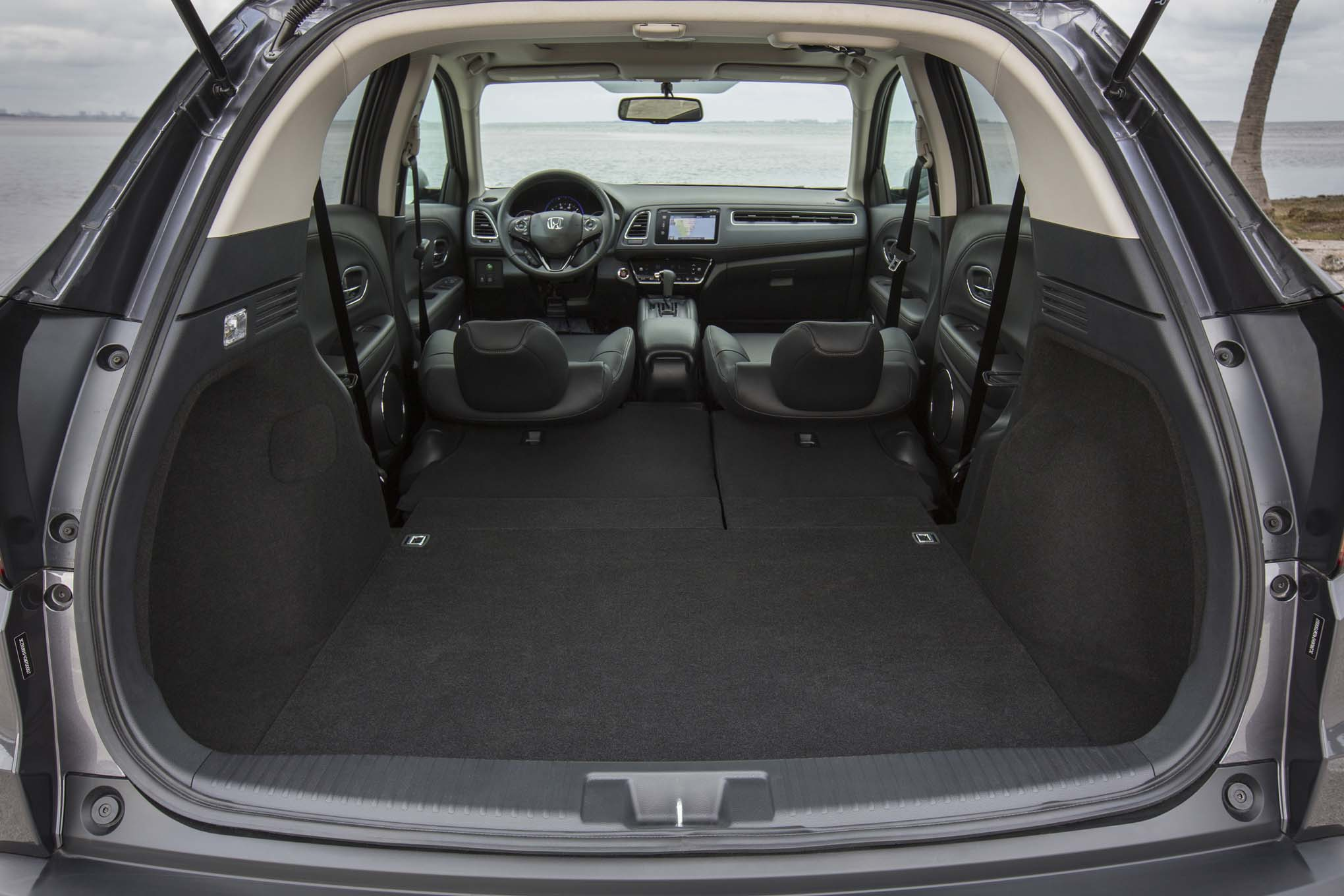 Honda HR-V amplo espaço para bagagens