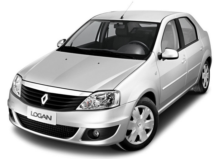 Renault Logan 1.0 modelo antigo