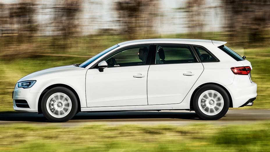 Audi A3: visual mais esportivo que o modelo sedã