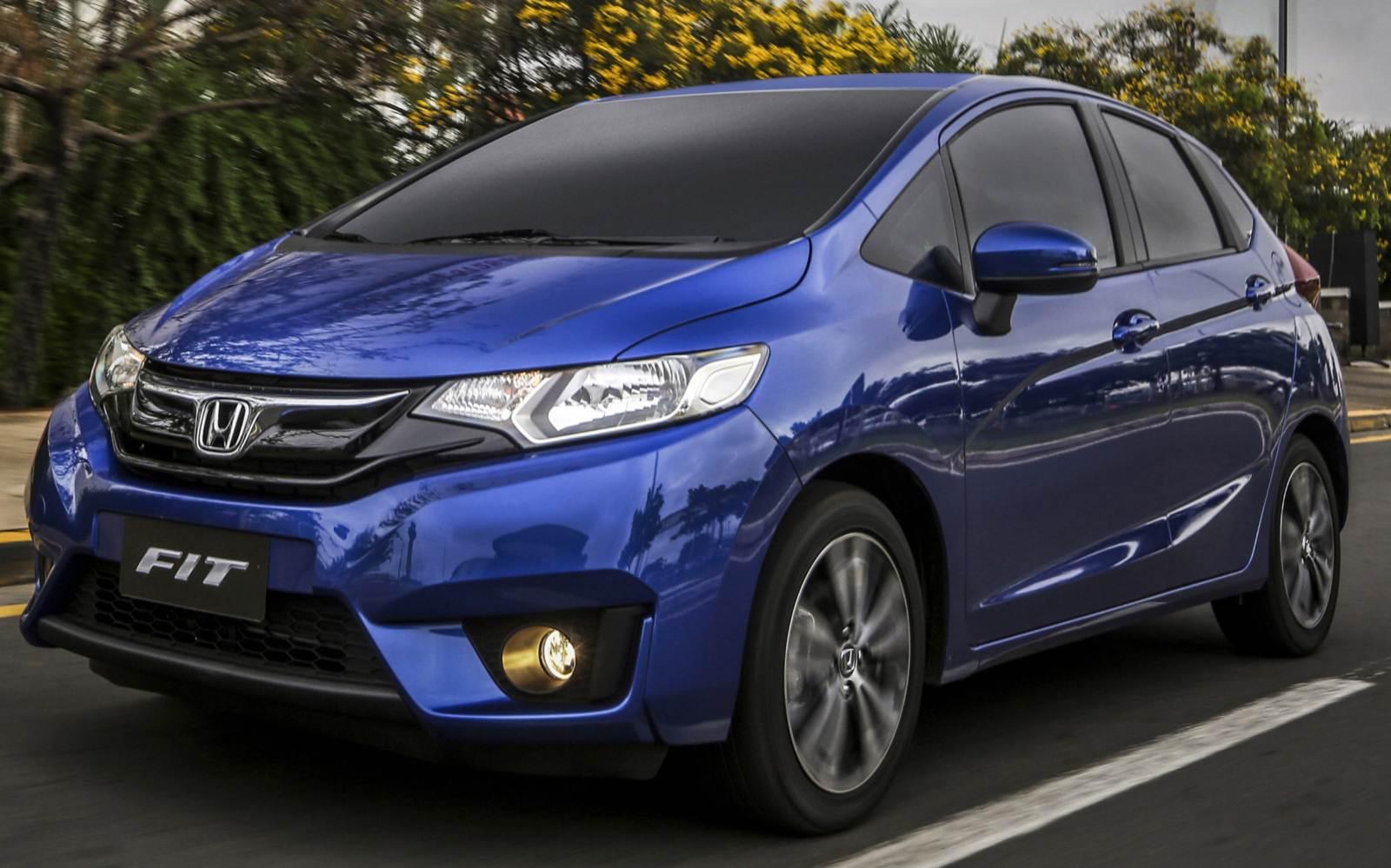 Honda Fit 2015 com desenho mais agressivo