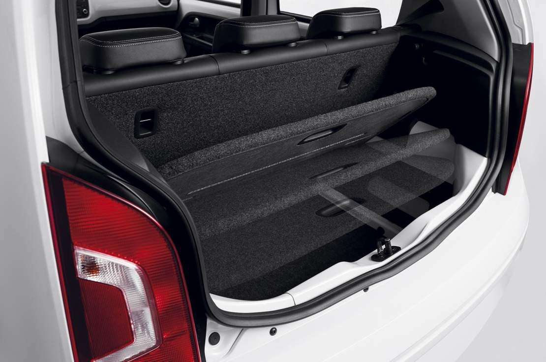 Up Tsi: razoável porta malas para o tamanho do carro