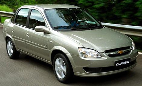 Corsa Classic: Sedã compacto com desempenho razoável e preço acessível no mercado de usados.