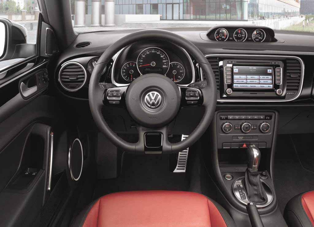 Volkswagen Fusca: painel completo e moderno